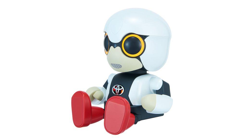 トヨタが小型ロボット「キロボ・...
