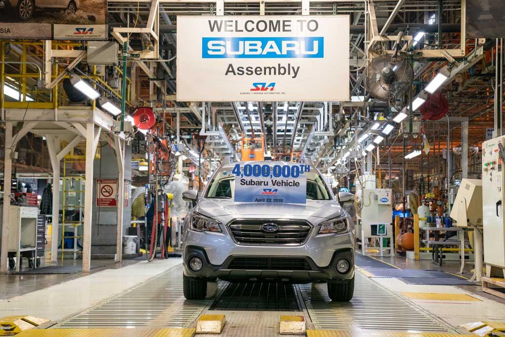 スバルの北米工場が累計生産400...