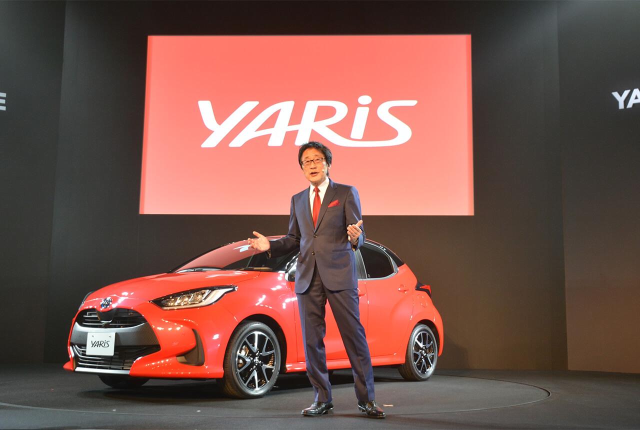 これが次期「ヴィッツ」! トヨタが新型「ヤリス」をワールド