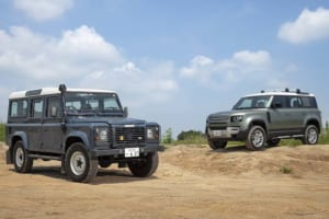 2020 LAND ROVER DEFENDER 110 vs 2002 LAND ROVER DEFENDER 110 TD5