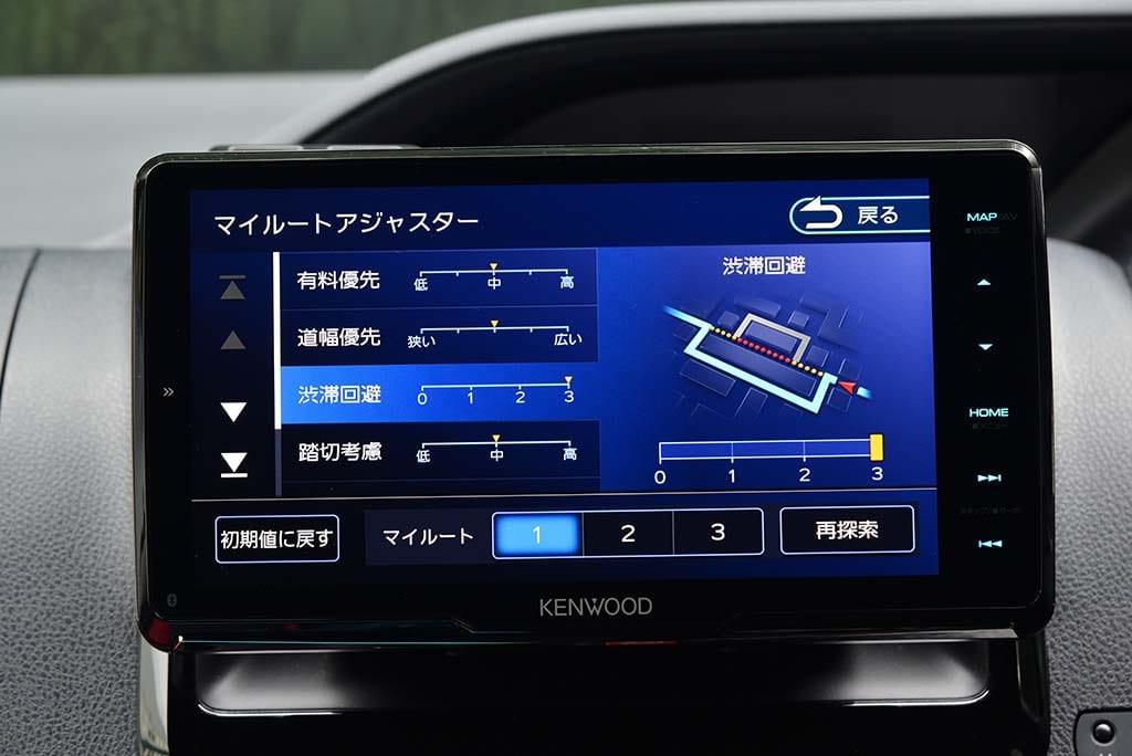 KENWOOD 彩速ナビ MDV-M907HDF