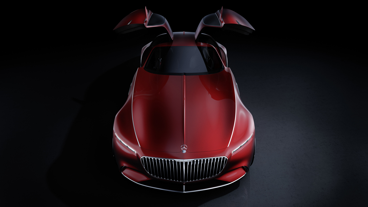 Bicycle_03 - Vision Mercedes-Maybach 6, 2016