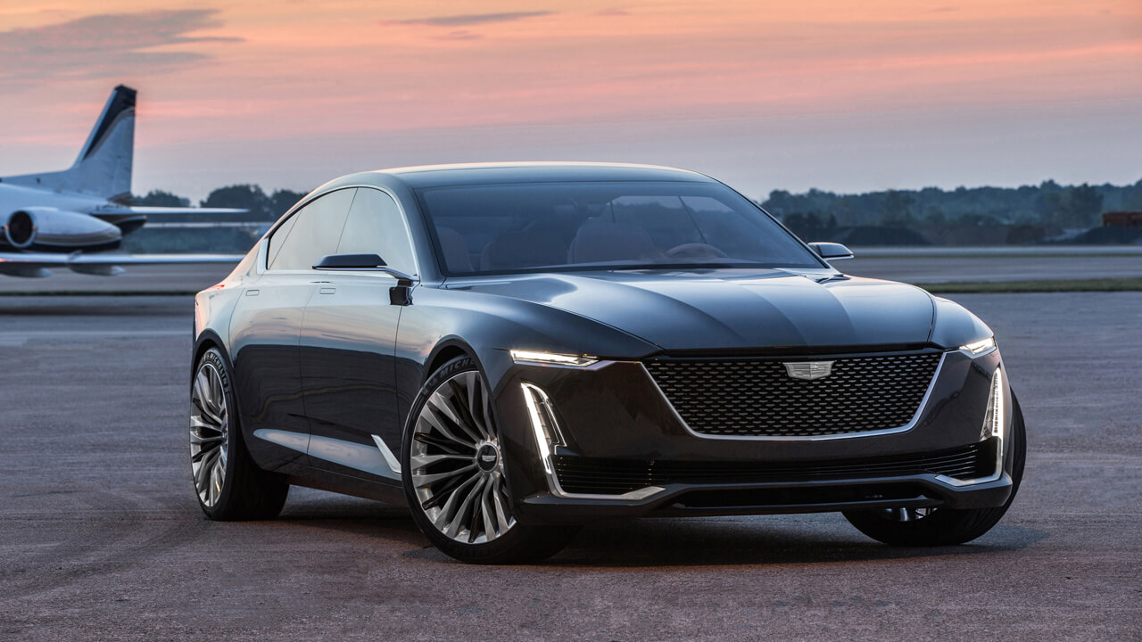 Bosch09 - The Escala Concept introduces the next evolution of Cadillac des