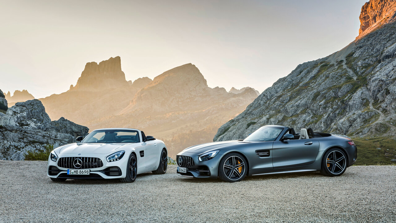 Bicycle_03 - AMG GT  Roadster und AMG GT C Roadster