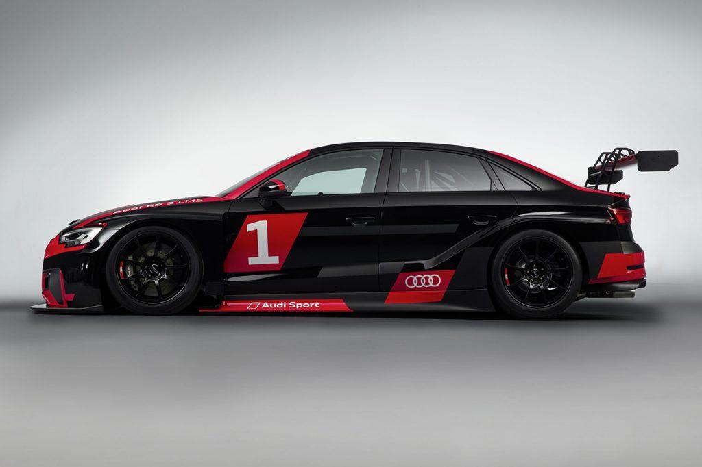 アウディがレーシングカー「RS3 LMS」を日本で販売! その価格は? -