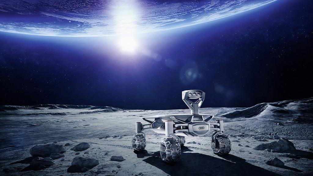 未来はコイツで月面ドライブ!? アウディがデザインした「有人宇宙探索車」がカッコいい! - Encounter - The Audi Technology Magazine 2/2016