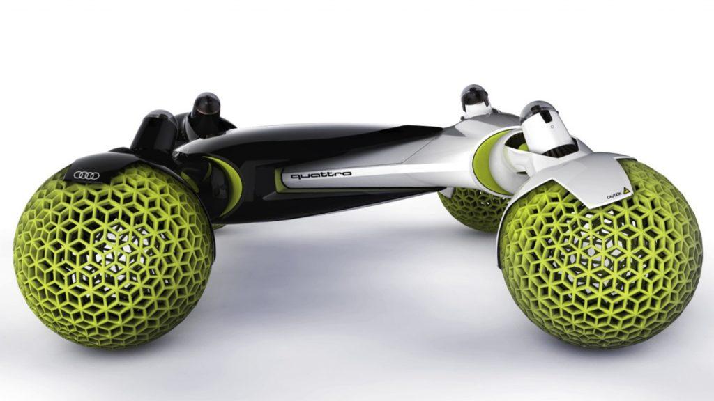 未来はコイツで月面ドライブ!? アウディがデザインした「有人宇宙探索車」がカッコいい! -