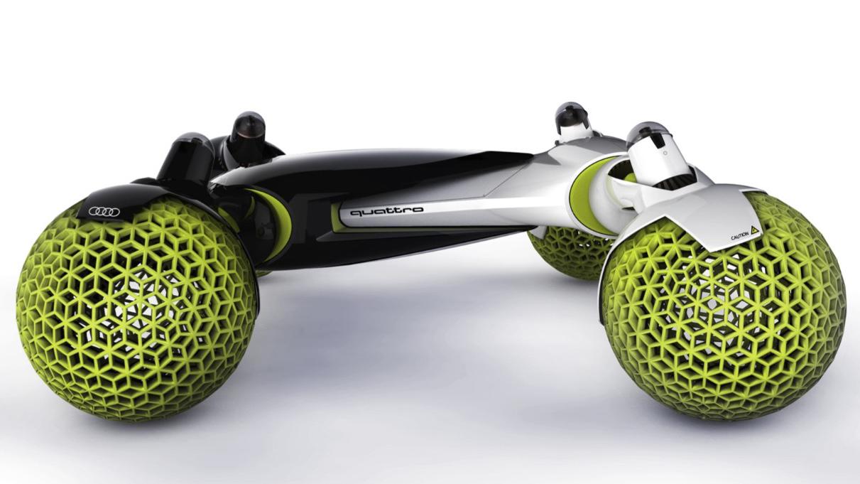 未来はコイツで月面ドライブ!? アウディがデザインした「有人宇宙探索車」がカッコいい! - 02