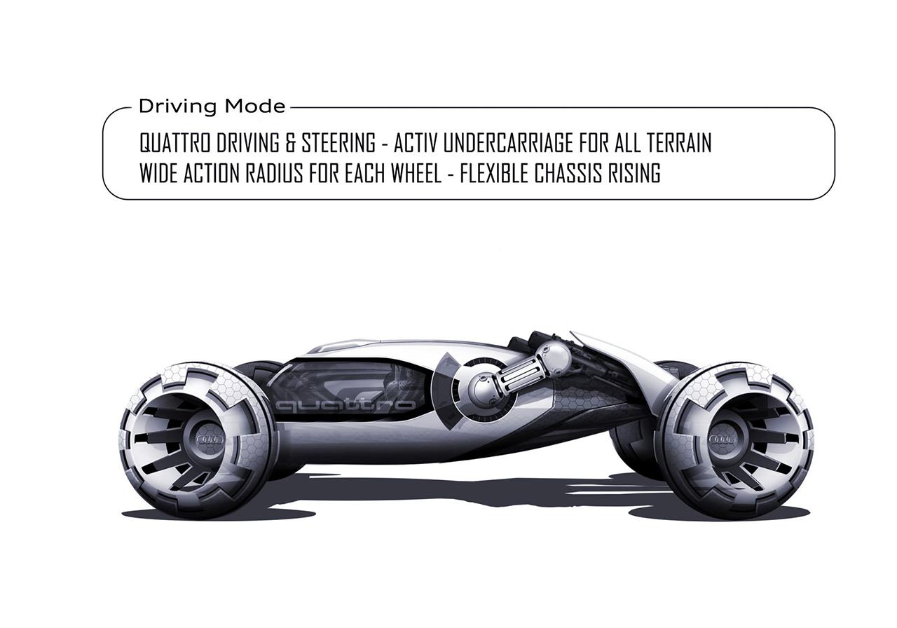 未来はコイツで月面ドライブ!? アウディがデザインした「有人宇宙探索車」がカッコいい! - 05