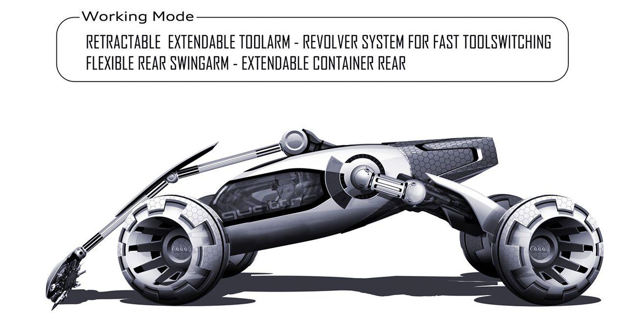 未来はコイツで月面ドライブ!? アウディがデザインした「有人宇宙探索車」がカッコいい! - 06