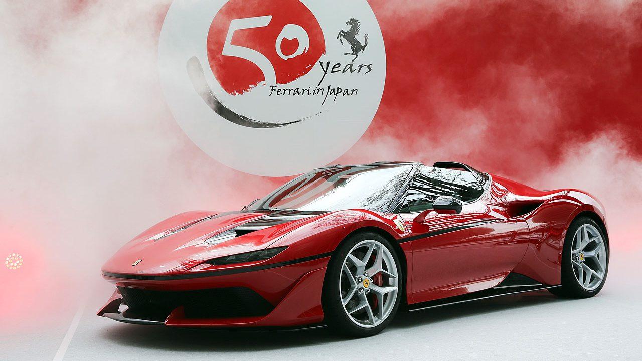 「フェラーリJ50」が日本上陸50周年記念、ラストイベントにサプライズ登場!価格はなんと3億円!! - 1
