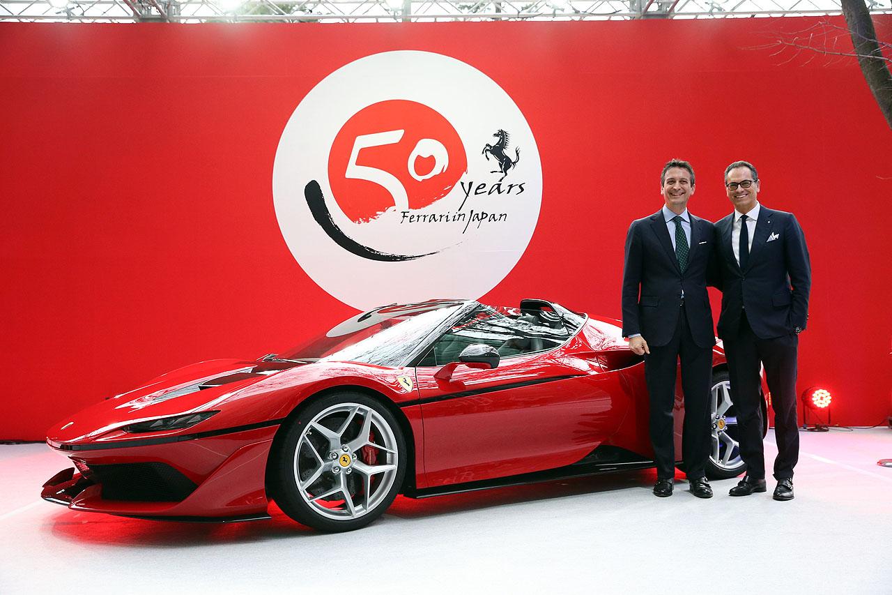 「フェラーリJ50」が日本上陸50周年記念、ラストイベントにサプライズ登場!価格はなんと3億円!! - 3