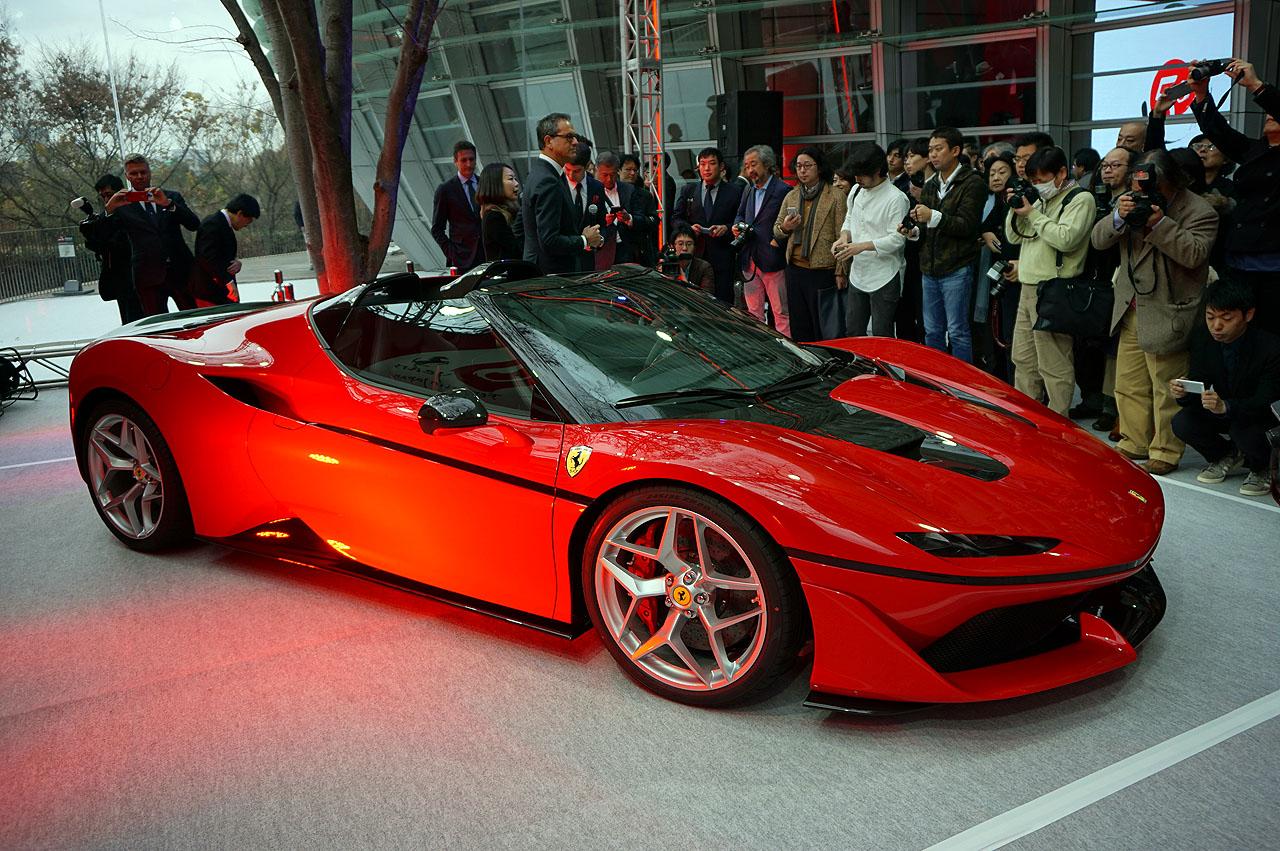 「フェラーリJ50」が日本上陸50周年記念、ラストイベントにサプライズ登場!価格はなんと3億円!! - 5