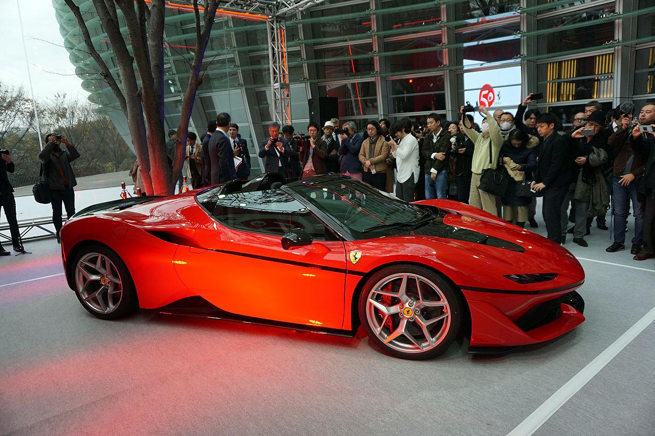 「フェラーリJ50」が日本上陸50周年記念、ラストイベントにサプライズ登場!価格はなんと3億円!! - 6