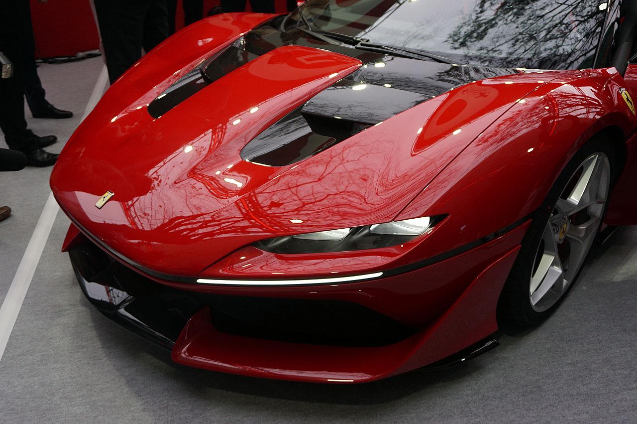 「フェラーリJ50」が日本上陸50周年記念、ラストイベントにサプライズ登場!価格はなんと3億円!! - 7