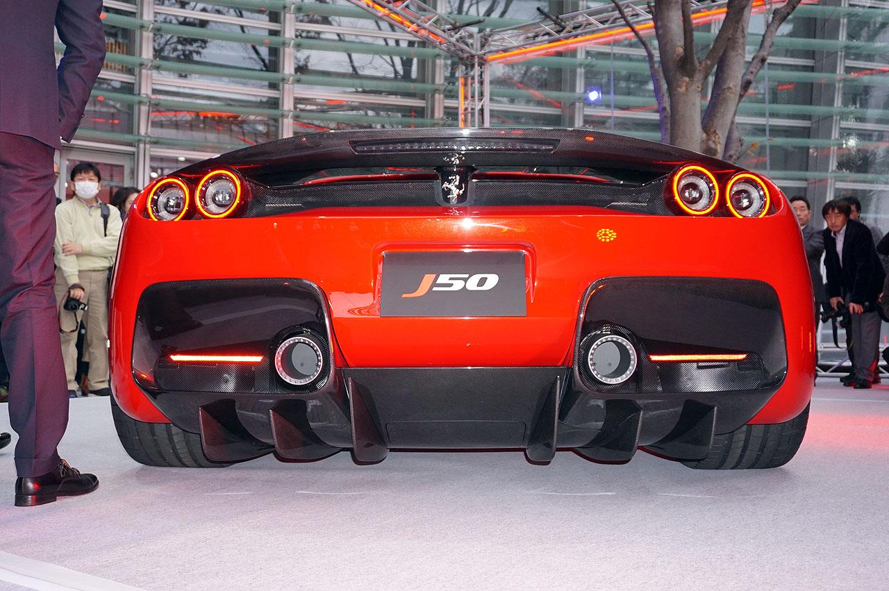 「フェラーリJ50」が日本上陸50周年記念、ラストイベントにサプライズ登場!価格はなんと3億円!! - 9