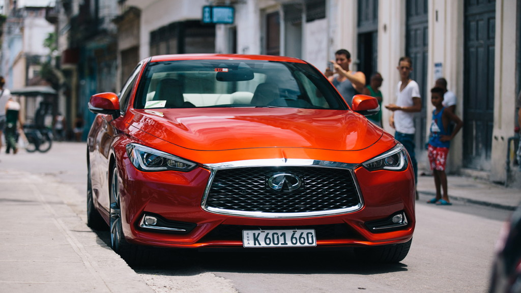 02yanasefukushi - INFINITI brings first U.S. vehicle to Cuba in 58 years