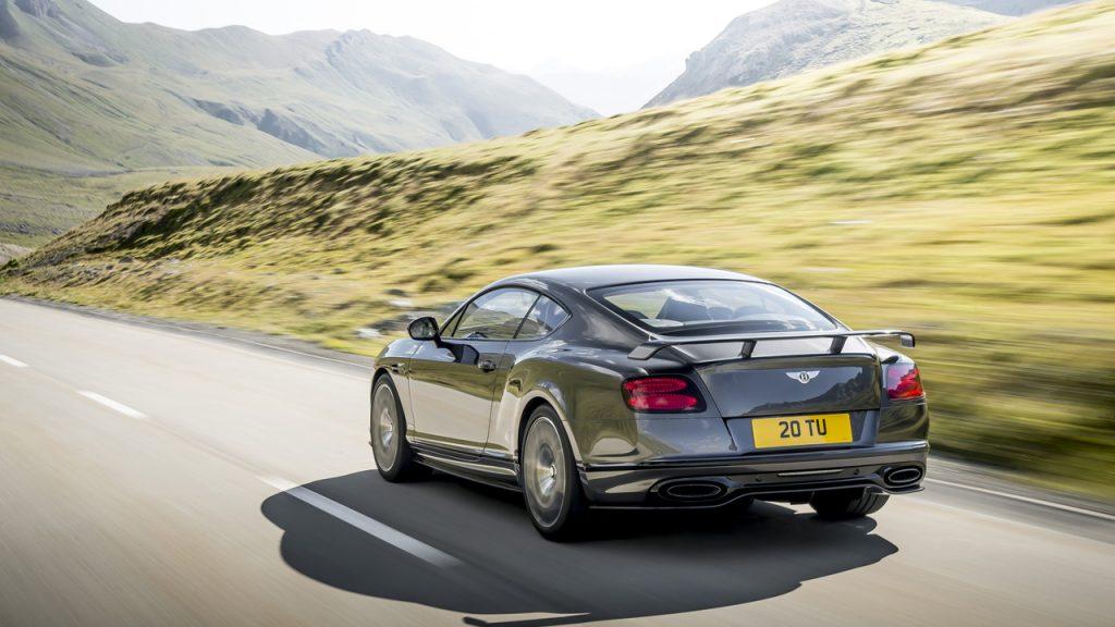 Bentley Continental GT Supersports Photo: James Lipman / jameslipman.com
