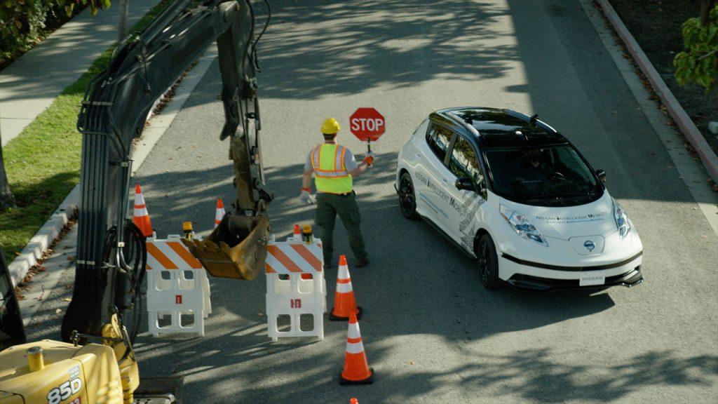 """Nissan """"Seamless Autonomous Mobility,"""" or SAM"""