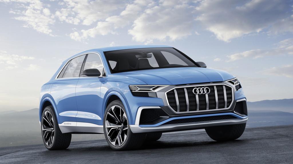 【デトロイトショー2017】アウディがビッグなクーペSUV「Q8コンセプト」を公開 - Audi Q8 concept