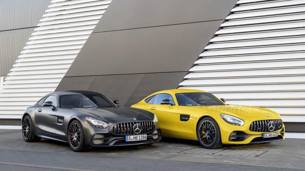 Mercedes-AMG GT C Edition 50, C 190, Mercedes-AMG GT S, C 190 (2017)