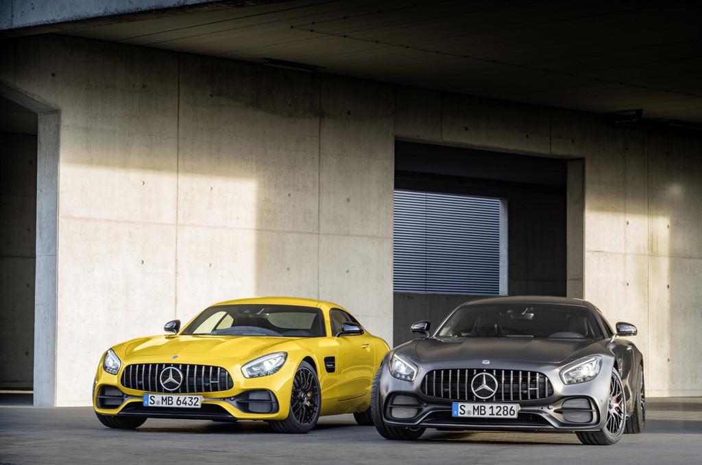 【デトロイトショー2017】メルセデス・ベンツの「AMG GT」がマイナーチェンジ - Mercedes-AMG GT C Edition 50, C 190, Mercedes-AMG GT S, C 190 (2017)