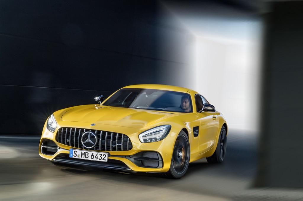 【デトロイトショー2017】メルセデス・ベンツの「AMG GT」がマイナーチェンジ - Mercedes-AMG GT S, C 190 (2017)