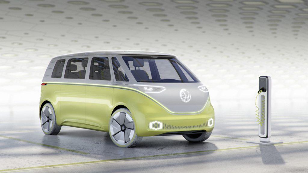 【デトロイトショー2017】VWが電気自動車のミニバン「I.D.BUZZコンセプト」を公開 -