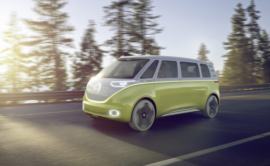 【デトロイトショー2017】VWが電気自動車のミニバン「I.D.BUZZコンセプト」を公開 - Autodesk VRED Professional 2017 SP1