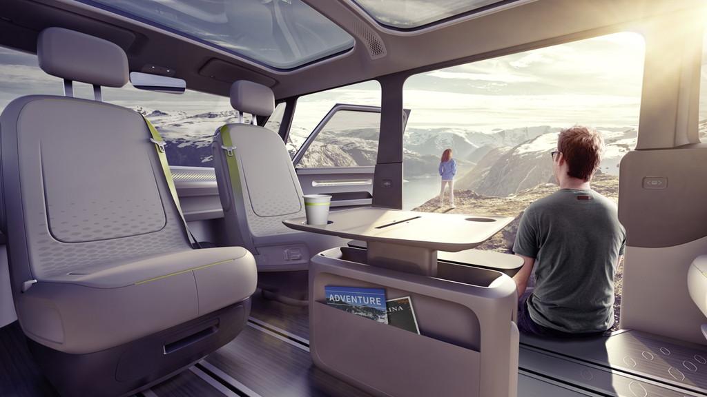 【デトロイトショー2017】VWが電気自動車のミニバン「I.D.BUZZコンセプト」を公開 - 0110_vw-i-d-buzz-concept_09