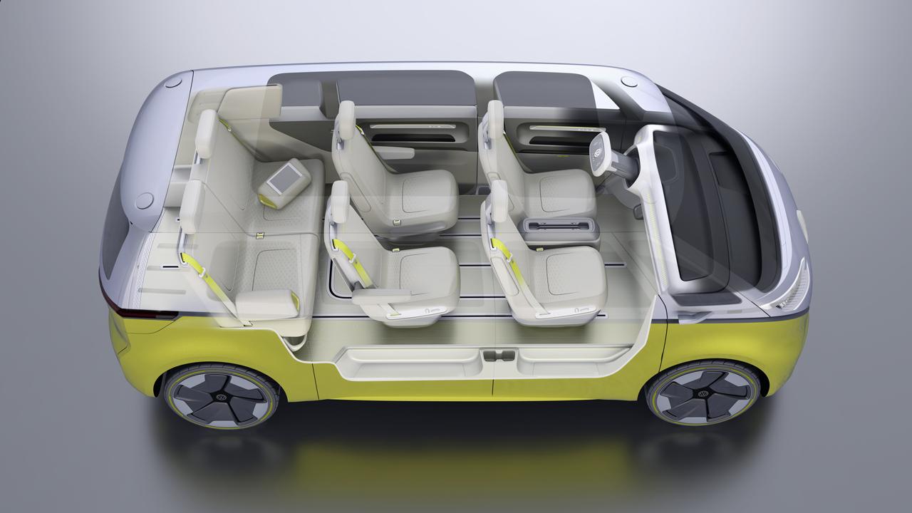 【デトロイトショー2017】VWが電気自動車のミニバン「I.D.BUZZコンセプト」を公開 - 0110_vw-i-d-buzz-concept_12