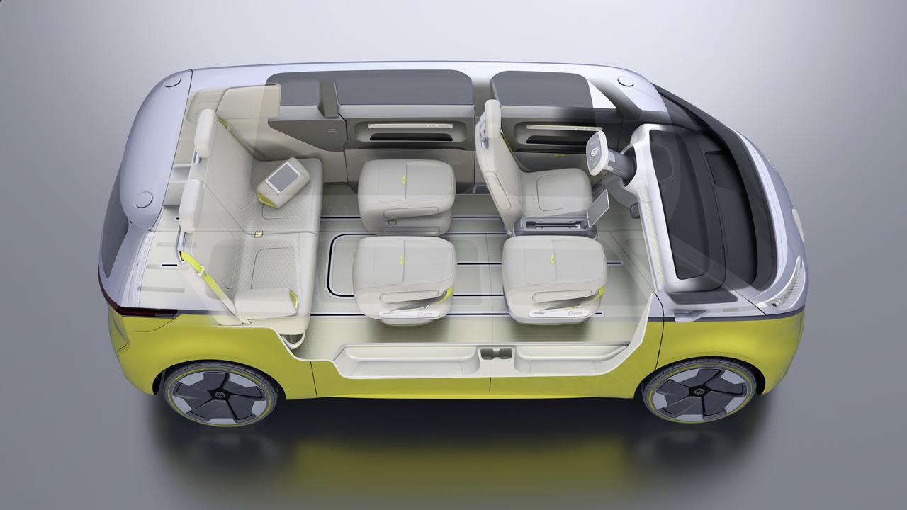 【デトロイトショー2017】VWが電気自動車のミニバン「I.D.BUZZコンセプト」を公開 - 0110_vw-i-d-buzz-concept_13