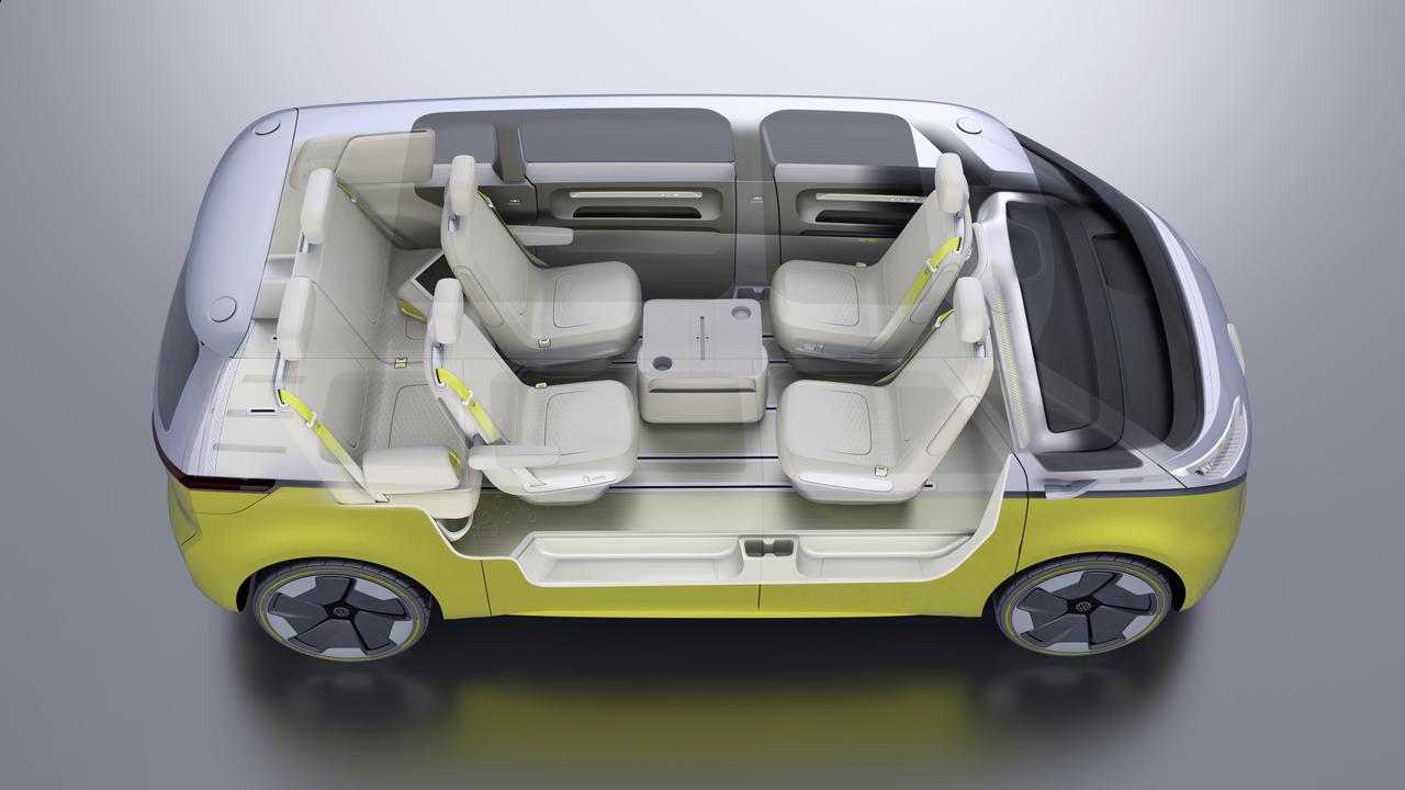 【デトロイトショー2017】VWが電気自動車のミニバン「I.D.BUZZコンセプト」を公開 - 0110_vw-i-d-buzz-concept_14