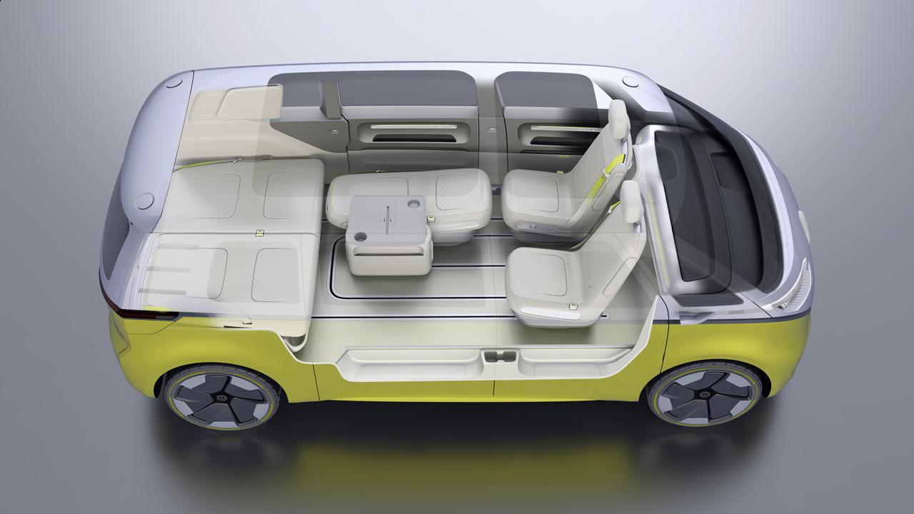 【デトロイトショー2017】VWが電気自動車のミニバン「I.D.BUZZコンセプト」を公開 - 0110_vw-i-d-buzz-concept_15