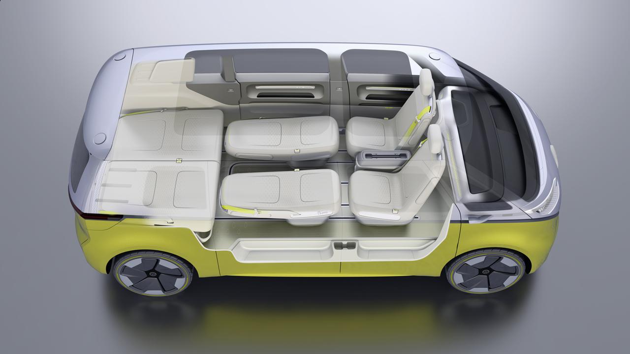 【デトロイトショー2017】VWが電気自動車のミニバン「I.D.BUZZコンセプト」を公開 - 0110_vw-i-d-buzz-concept_16