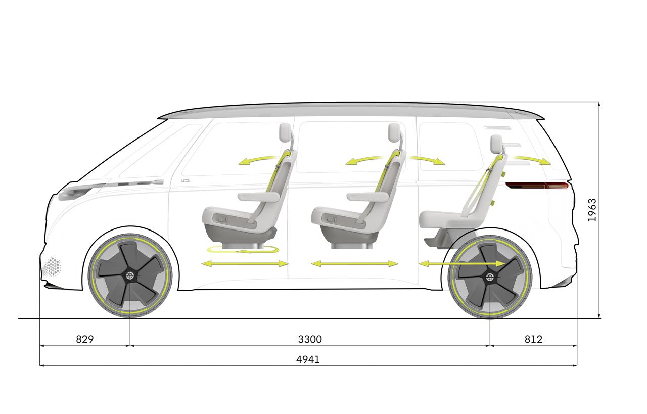 【デトロイトショー2017】VWが電気自動車のミニバン「I.D.BUZZコンセプト」を公開 - 0110_vw-i-d-buzz-concept_17