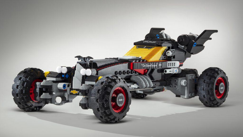 Built using more than 340,000 LEGO® bricks and measuring 17 fee