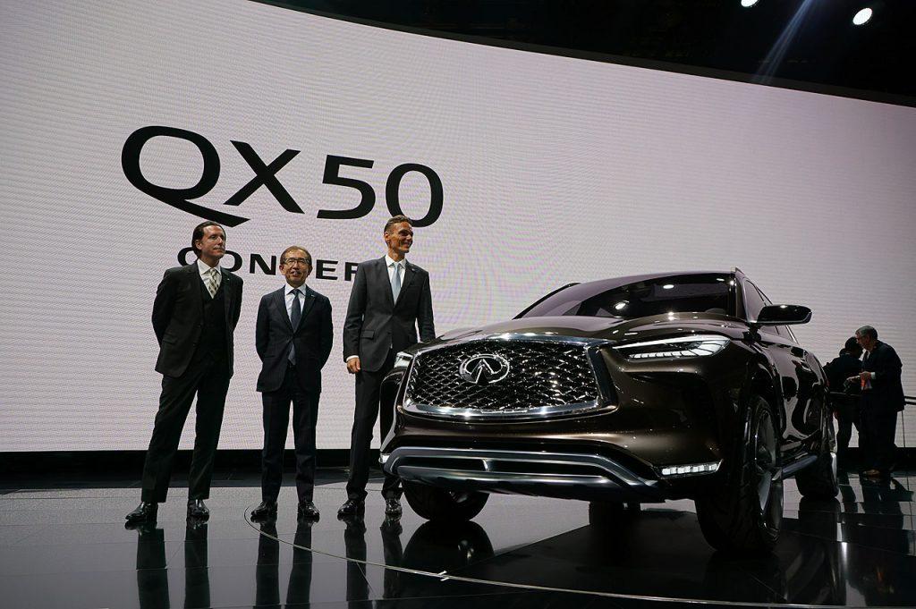 【デトロイトショー2017】インフィニティ「QX50コンセプト」がワールドプレミア -