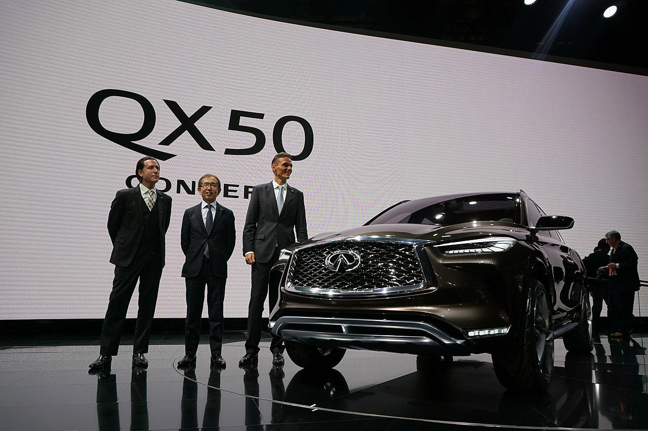【デトロイトショー2017】インフィニティ「QX50コンセプト」がワールドプレミア - infiniti-qx50-2018-2