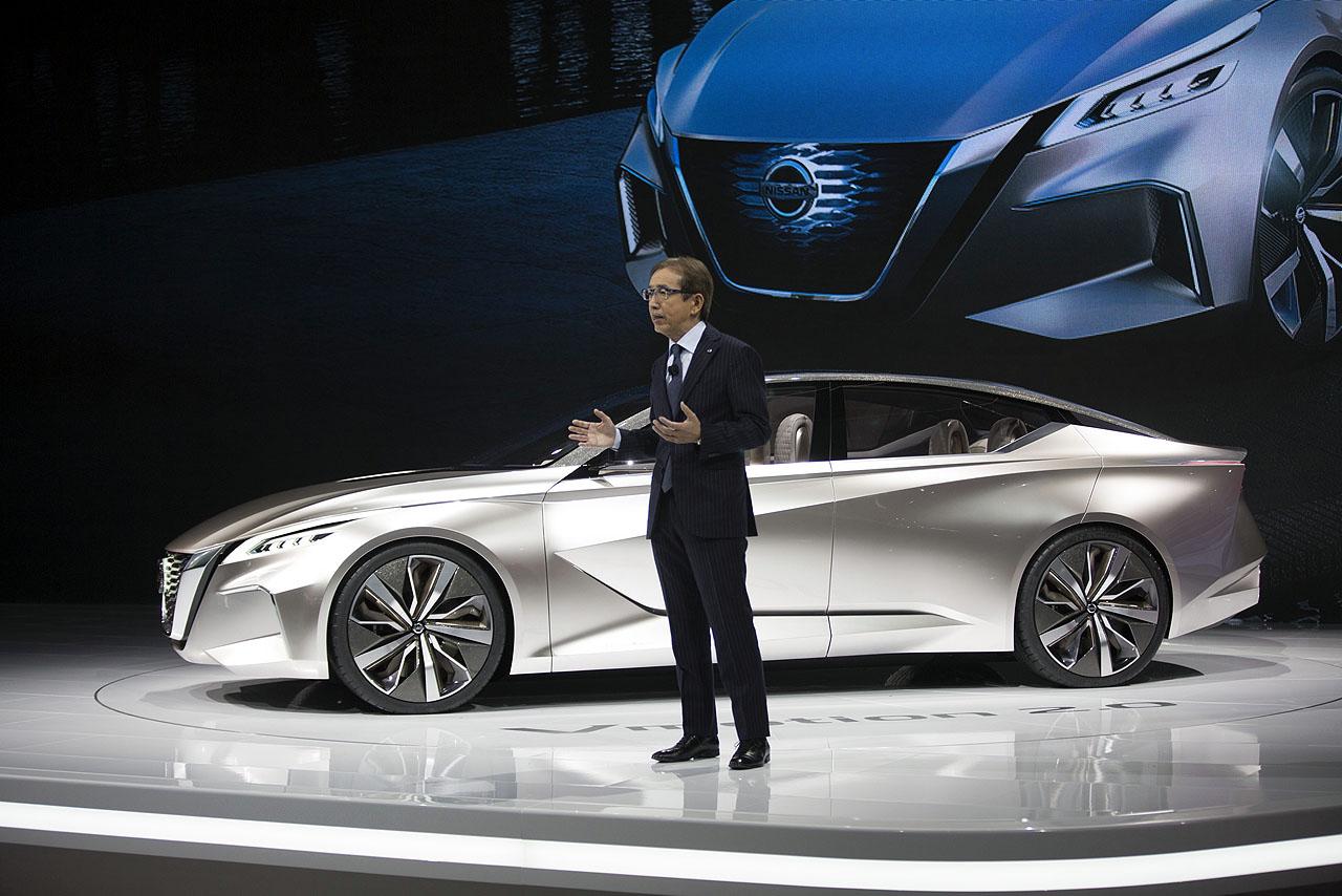 【デトロイトショー2017】日産「Vモーション2.0」から読み解くセダンの新潮流とは - Nissan unveils Vmotion 2.0 at 2017 North American International