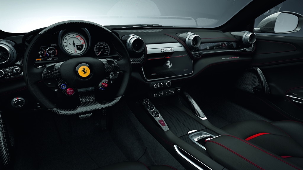毎日楽しめるスーパーカー! フェラーリ新型「GTC4ルッソT」が日本初披露 - 0317_Ferrari-GTC4LussoT_12