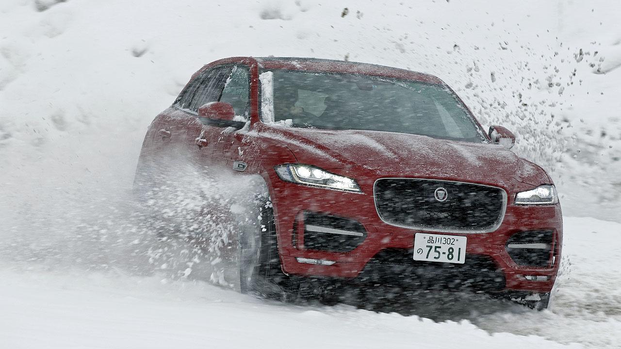 ジャガー・ランドローバー雪上試乗会報告② 初のSUVはどんなテイスト? ジャガー「Fペース」でスノーアタック! - JAGUAR F-PACE 4WD SNOW (1)