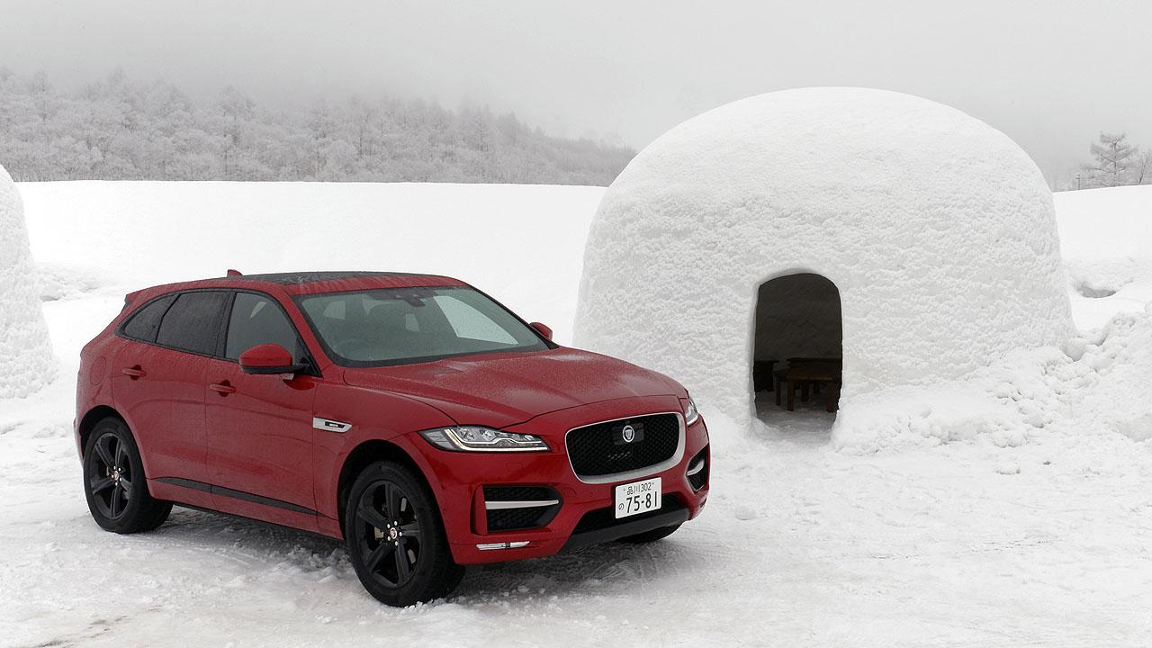 ジャガー・ランドローバー雪上試乗会報告② 初のSUVはどんなテイスト? ジャガー「Fペース」でスノーアタック! - JAGUAR F-PACE 4WD SNOW (8)