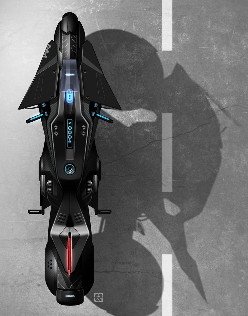 あの「攻殻機動隊」の実写版4月公開! 映画「ゴースト・イン・ザ・シェル」に登場するホンダ「NM4」がカッコいい! - ghostintheshell_003