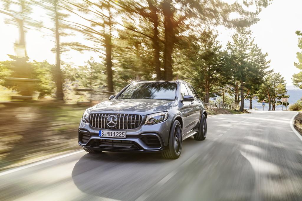 メルセデスAMGがGLCとGLCクーペに最強の63 4マチックを追加 - Mercedes-AMG GLC 63 S 4MATIC+, 2017