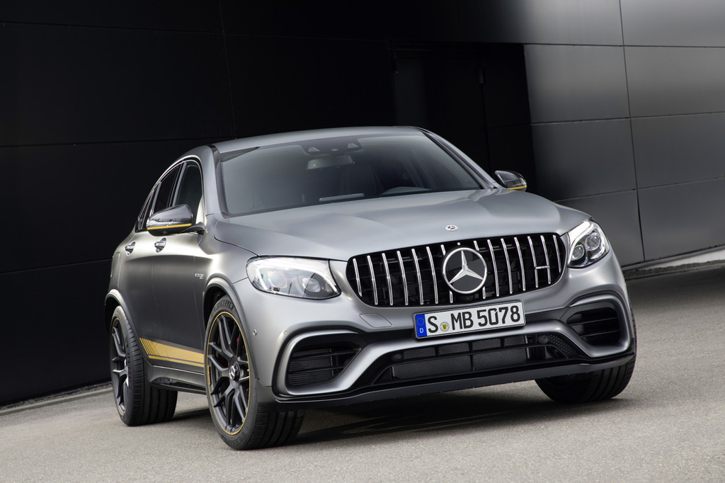 メルセデスAMGがGLCとGLCクーペに最強の63 4マチックを追加 - Mercedes-AMG GLC 63 S 4MATIC+ Coupé Edition 1