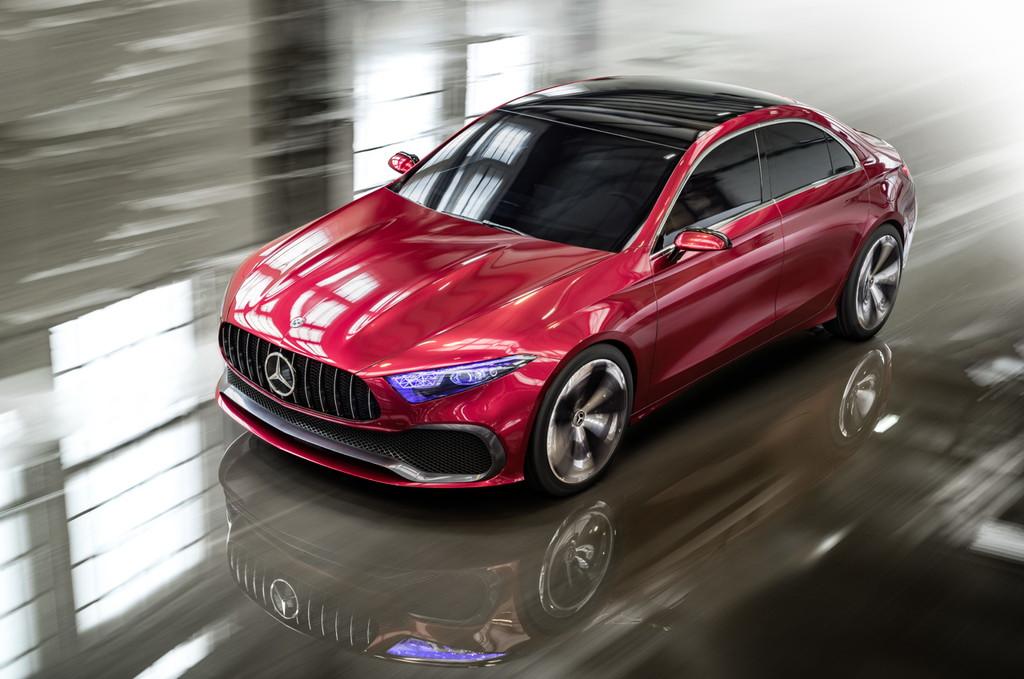 メルセデス・ベンツ「コンセプトAセダン」が登場!【上海モーターショー2017】 - Mercedes-Benz Concept A Sedan: Vorbote einer neuen Generation