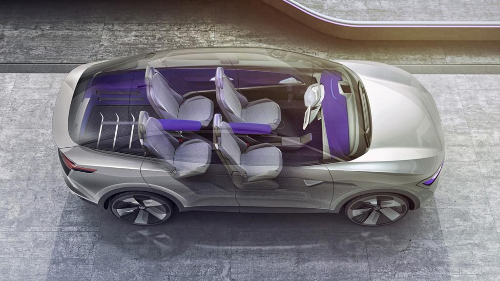 VWのEV戦略を担う「I.D.クロス」が発表【上海モーターショー2017】 - Volkswagen Showcar I.D. CROZZ