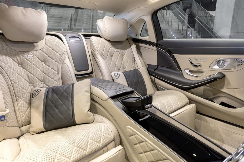 メルセデス・ベンツ 新型「Sクラス」続報【上海モーターショー2017】 - Mercedes-Maybach S-Klasse (X222); 2017