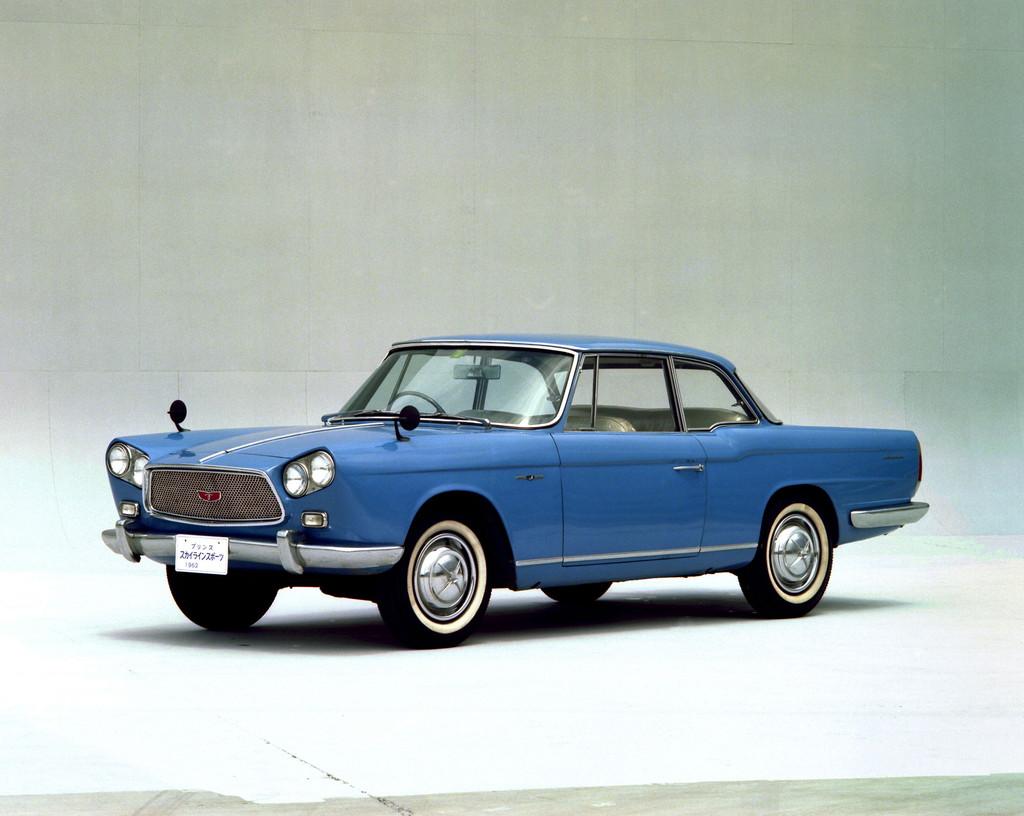 日産「スカイライン」の60年、全モデルを写真で振り返る① - 1962_skyline_sport_coupe_BLRA-3-source